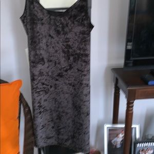 One dress size small black color